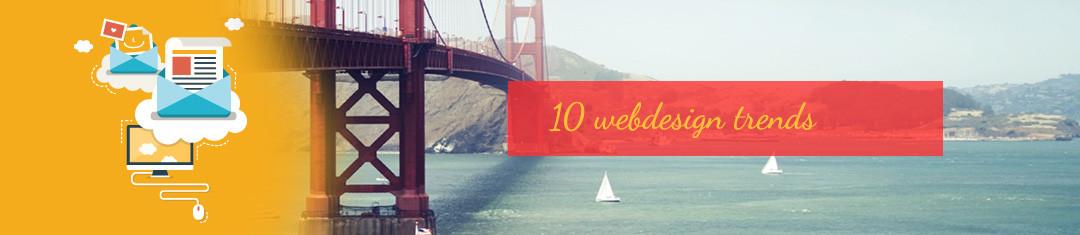 10 webdesign trends